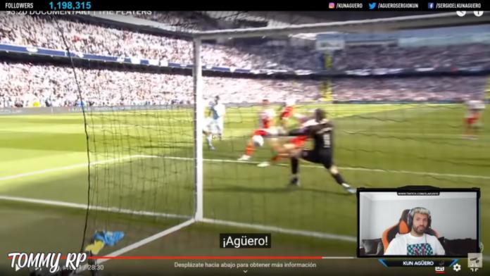 Aguero de Man City réagit à son objectif emblématique 2011-12: