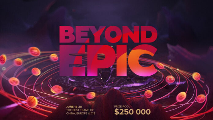 Beyond Epic Dota 2 prize pool schedule teams how to watch