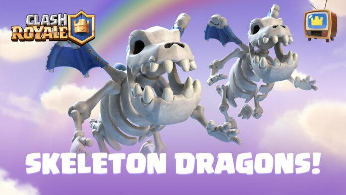 Clash Royale Skeleton Dragons - Comment débloquer, forces et faiblesses