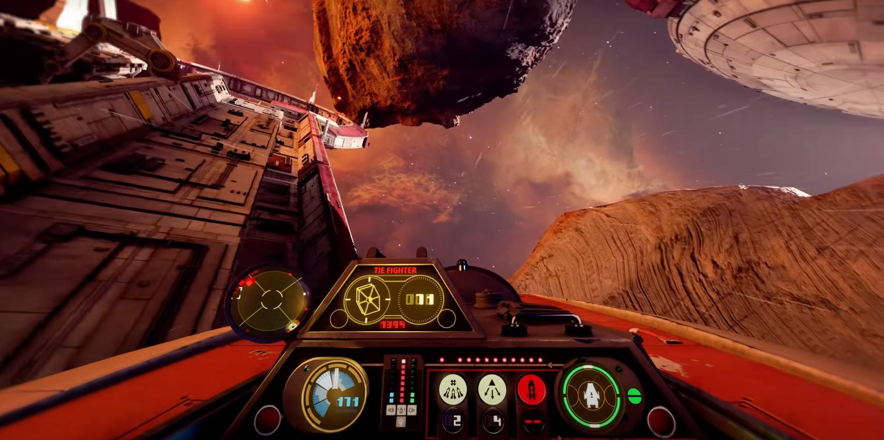 Les escadrons de Star Wars embarquent des chasseurs, des intercepteurs, du soutien et des bombardiers