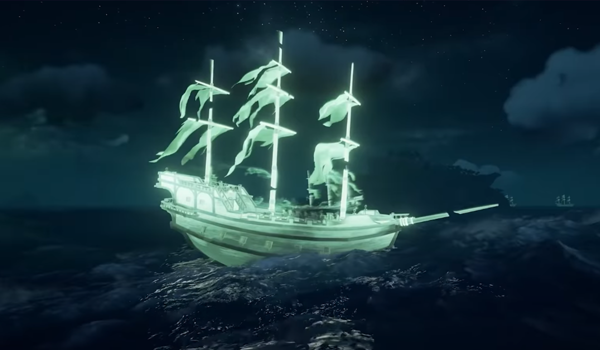 Comment battre les navires fantômes dans Sea of Thieves Haunted Shores