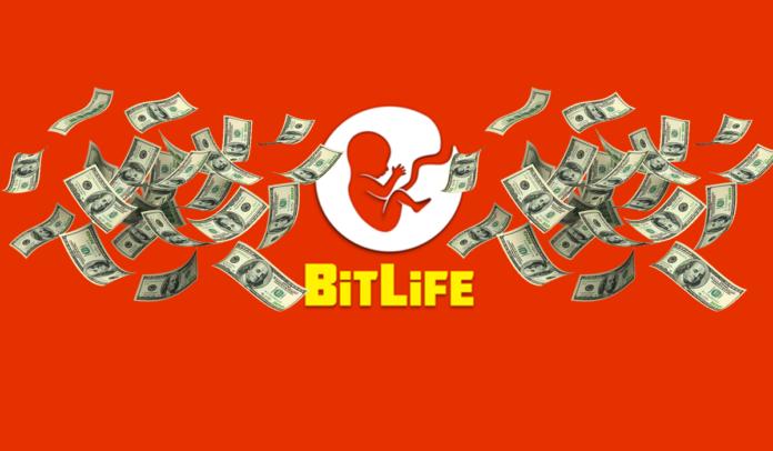 Comment devenir riche et gagner à la loterie dans BitLife