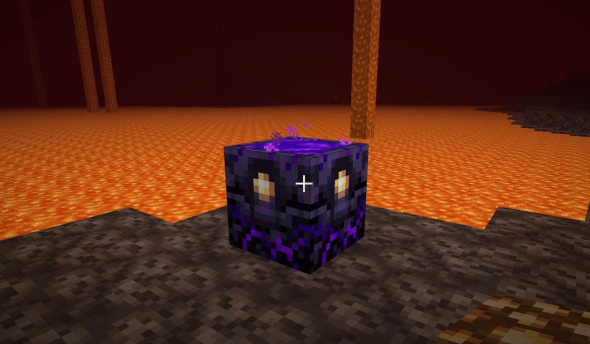Comment faire une ancre Respawn dans Minecraft