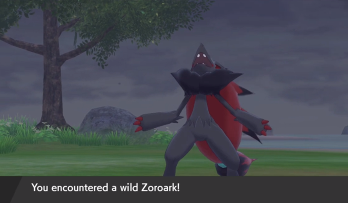 How to get Zoroark in Pokemon Sword & Shield