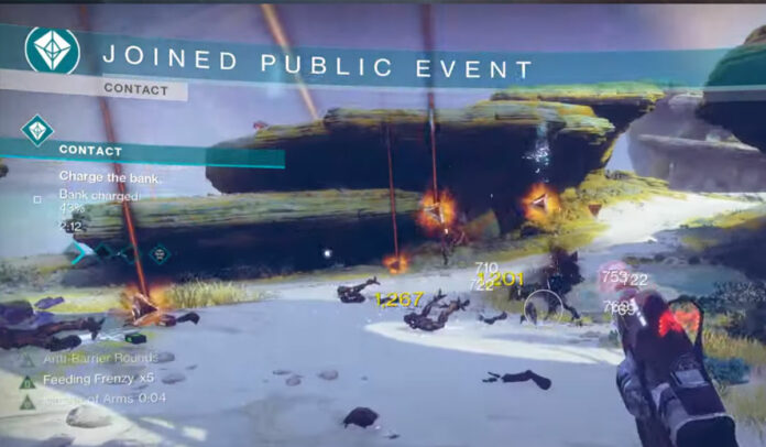 Contacter le lieu de l'événement public dans Destiny 2