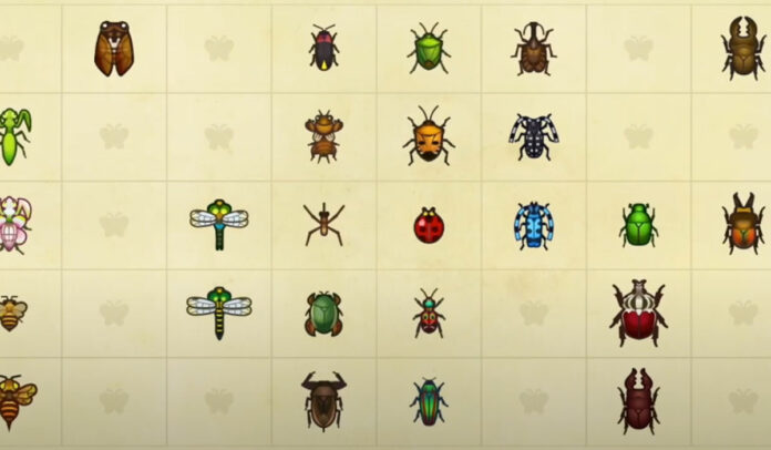 New bugs arriving in July in Animal Crossing New Horizons