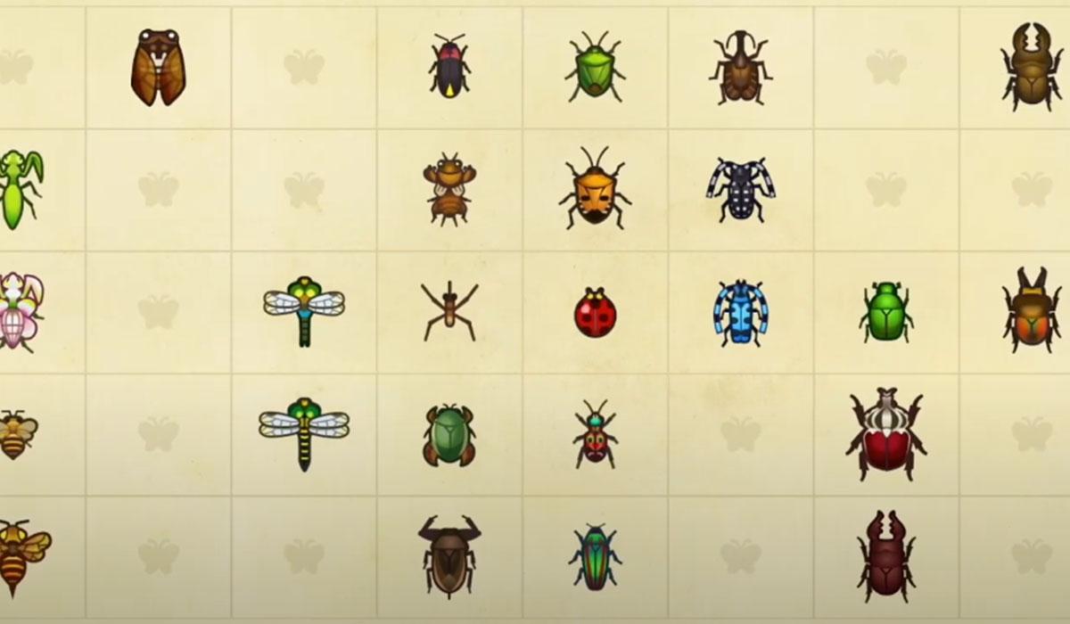 De nouveaux bugs arrivent en juillet dans Animal Crossing New Horizons