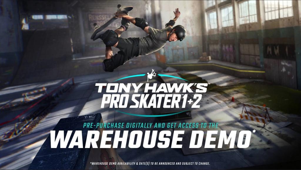 Précommande Tony Hawk Pro Skater 1 et 2 Activision