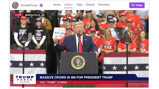 Twitch Donald Trump Donald Trump Twitch, Donald Trump Ban de Twitch