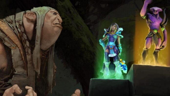 Dota 2 Battle Pass sideshop Valve