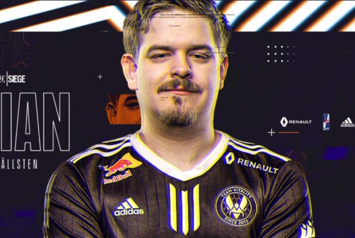 Fabian retrouve Goga sur la liste Rainbow Six Siege de Team Vitality