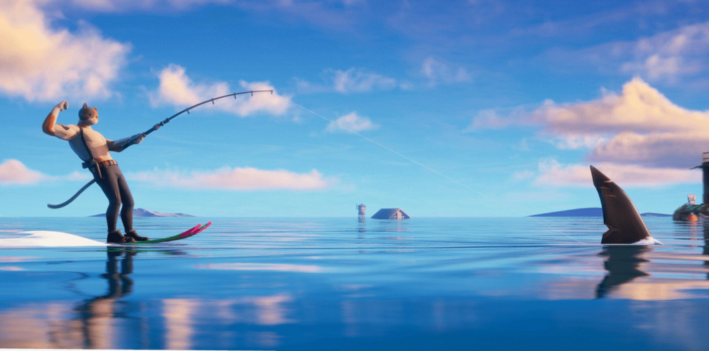 Fortnite Aquaman Challenge Semaine 2