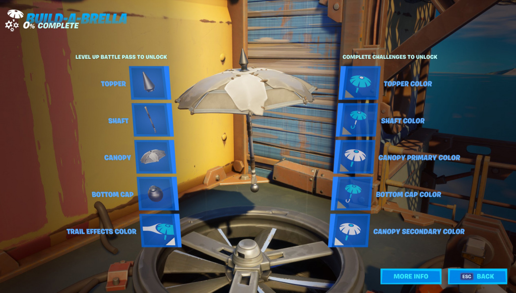 Fortnite Season 3 Battle Pass Build-a-brella