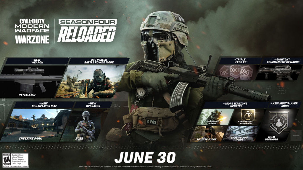Notes de mise à jour de Modern Warfare Warzone rechargées