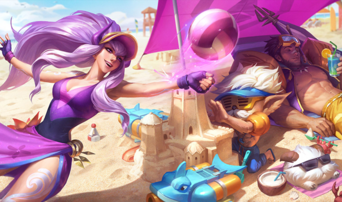 League of legends 2020 pool party skins