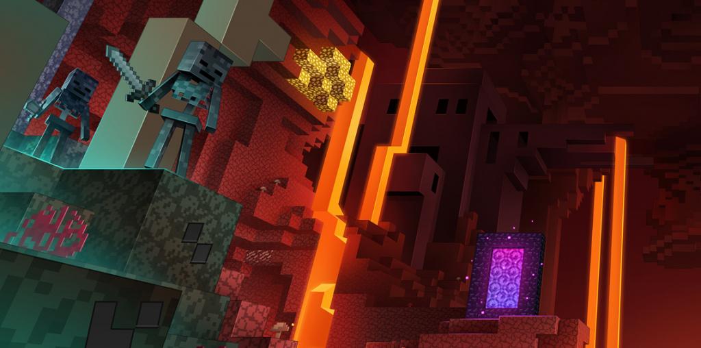 Contenu de la date de sortie de la mise à jour de Minecraft Nether