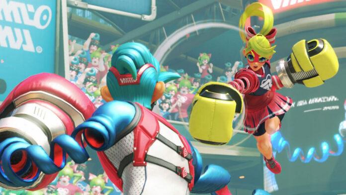 ARMS Nintendo Switch Smash Bros Ultimate