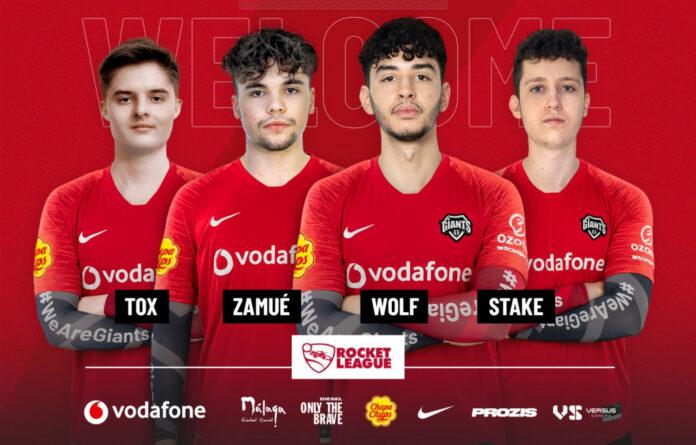 Les Vodafone Giants entrent dans la Rocket League avec l'ancien alignement du RCD Espanyol