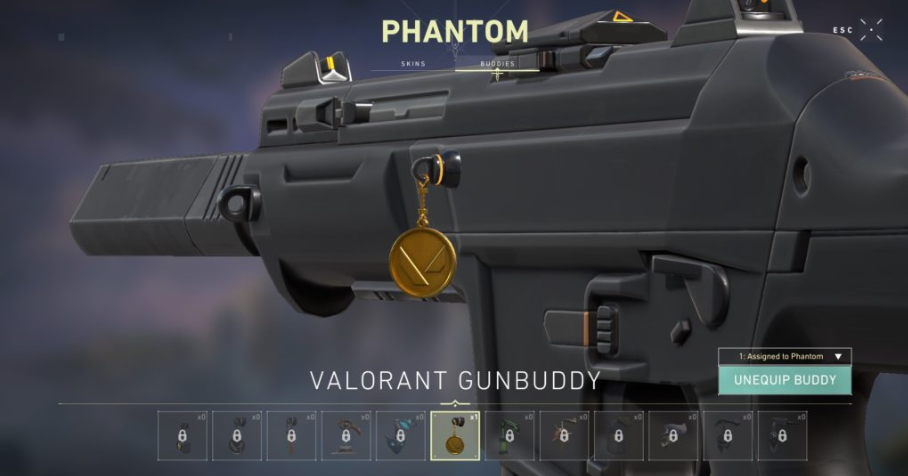 Netter Treter Gun Buddy Valorant Prime Gaming Twitch Drops