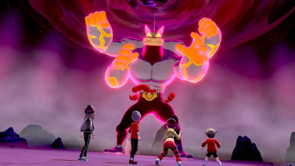 Gigantamax Machamp Pokemon