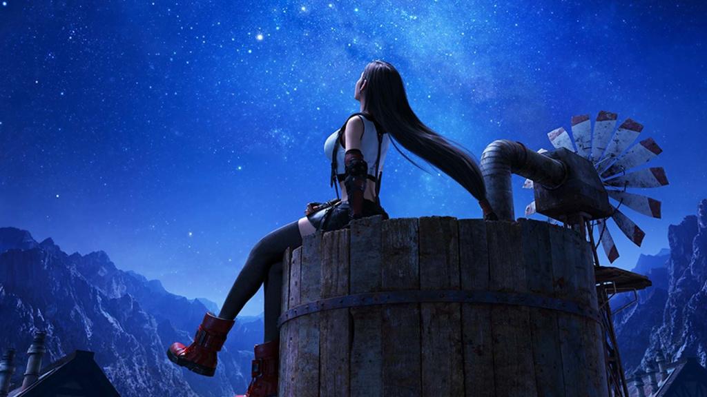 Thème dynamique PS4 gratuit Tifa Lockhart Remake Final Fantasy VII