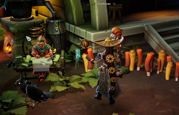 Où est Zephoras dans Torchlight 3?