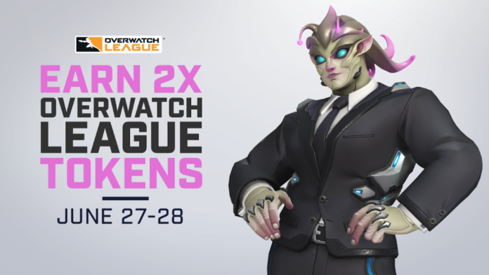 Overwatch League free tokens june 27 28 how to get free tokens for overwatch league