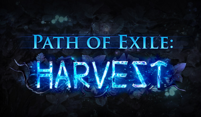 Path of Exile Harvest League Builds Starter solides
