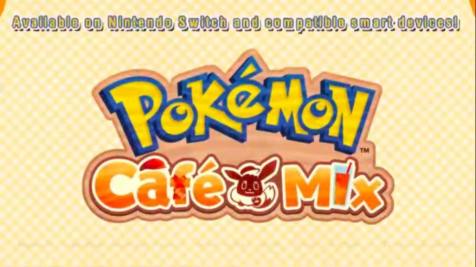 Pokemon Presents annonce Pokemon Cafe Mix