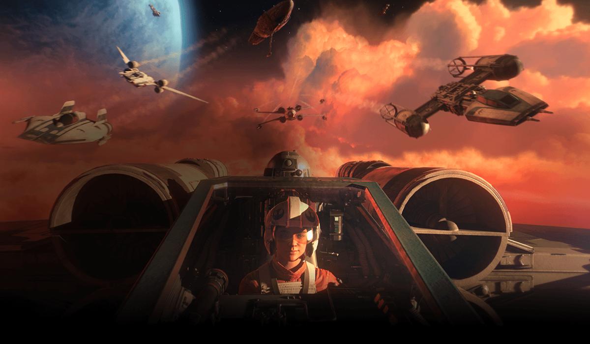 Star Wars: Squadrons: date de sortie, bande-annonce et prise en charge VR