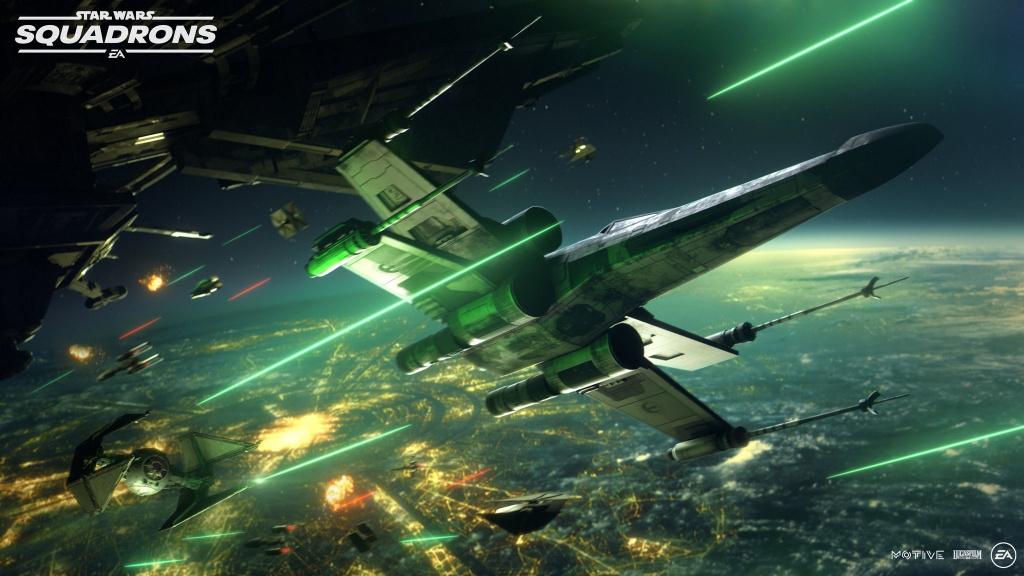 Star Wars: Squadrons prix crossplay quand est-il défini? batailles de flotte multijoueur 5v5, réalité virtuelle des escadrons Star Wars