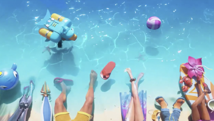 Teaser fait allusion à plus de skins Pool Party pour League of Legends