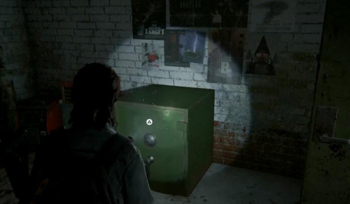 The Last of Us Part 2 Hillcrest Garage Safe Combination