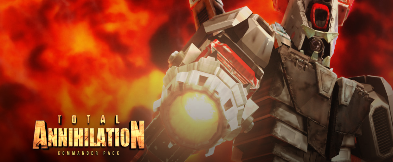 Total Annihilation Commander Pack est gratuit sur GOG