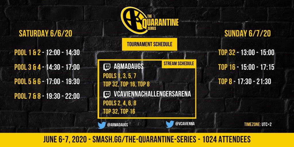 Série Quarantaine Smash Ultimate Europe edition