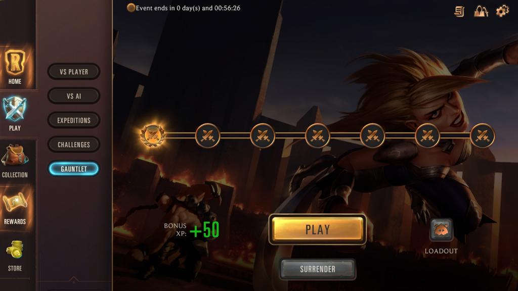 Legends of Runeterra patch 1.4 update 1.4 v1.4 Legends of runeterra compettiive mode