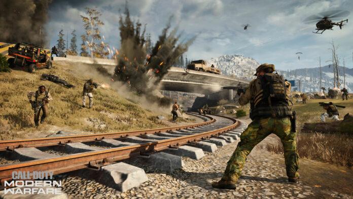 Une image fuite révèle le mode Battle Royale du joueur Call of Duty Warzone 200