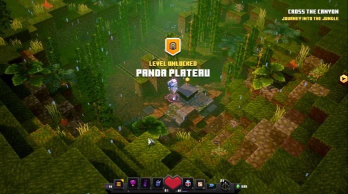 Comment débloquer le plateau de Panda dans Minecraft Dungeons Jungle Awakens