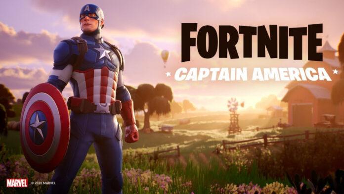 Skin Fortnite Captain America: Comment obtenir