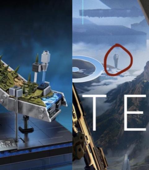 Ensemble de jouets Halo Infinite Story
