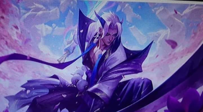 Yasuo splash art league of legends