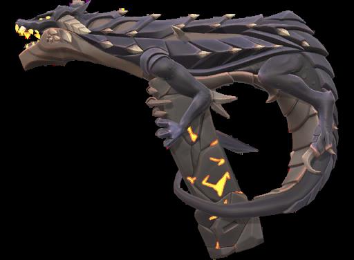 Pistolet Valorant Skins Elderflame Dragon Skins