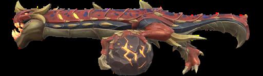 Peaux de dragon valeureux