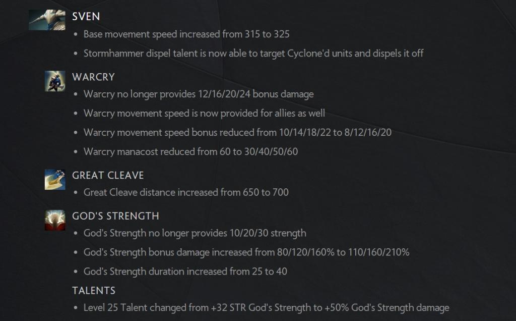 La nouvelle mise à jour 7.27b de la balance des héros de Dota 2 modifie la valve d'équilibre des objets