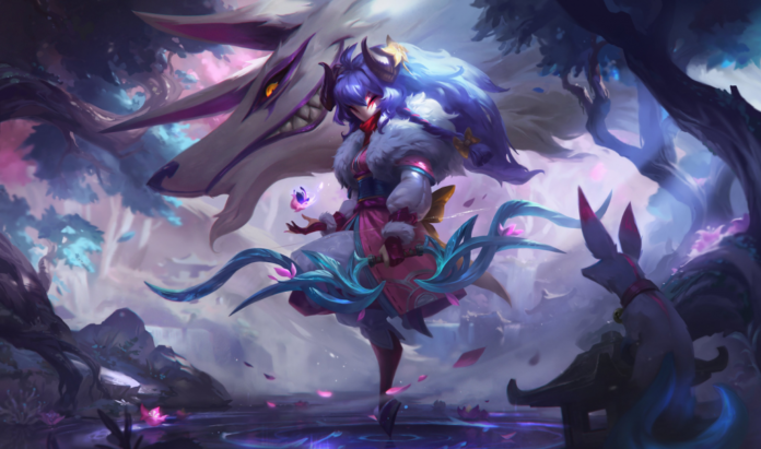 Spirit Blossom Kindred League of Legends