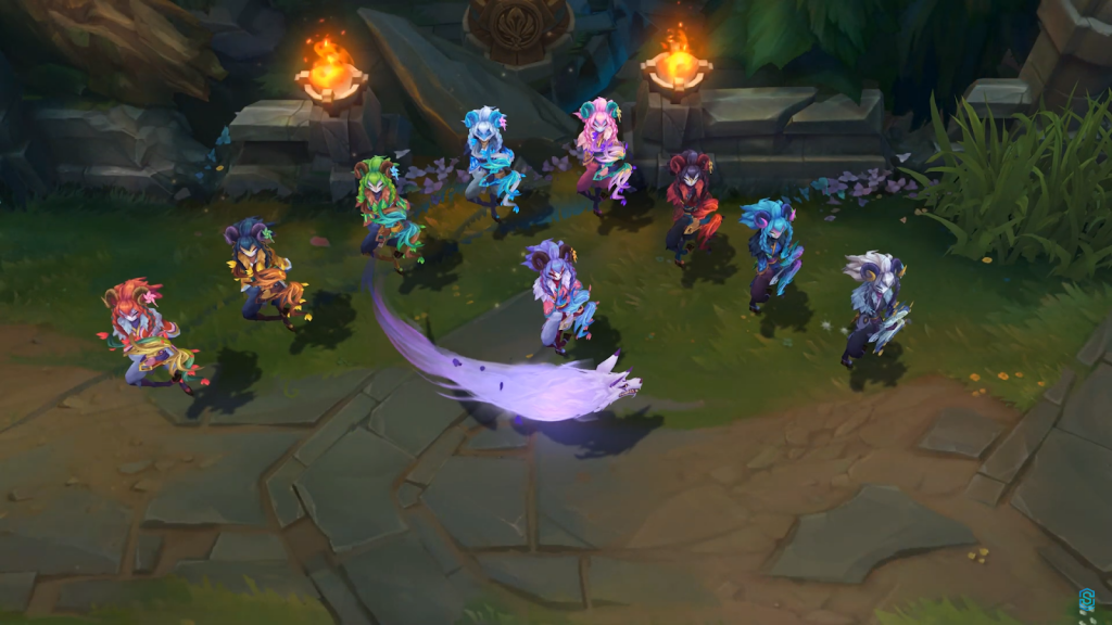 SB kindred chromos lol