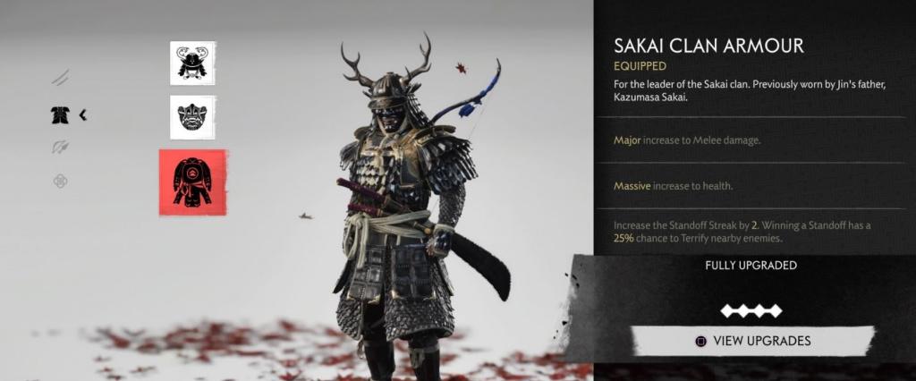 Ghost of Tsushima comment affronter le trophée Five Kills