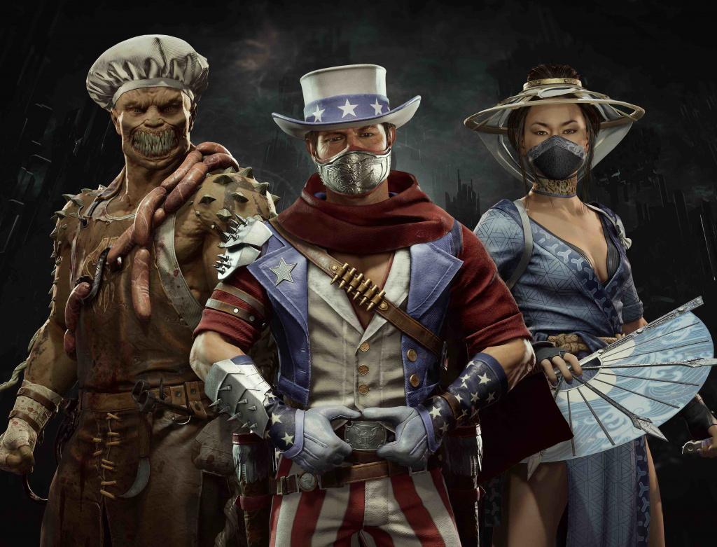 Mise à jour des skins d'été de Mortal Kombat
