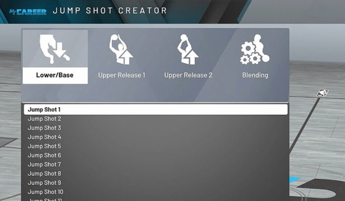 How to unlock Jumpshot creator in NBA 2k20