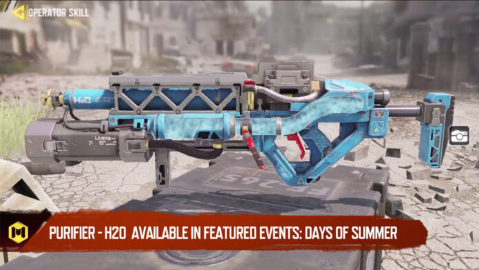 COD Mobile H20 Purifier Days of Summer